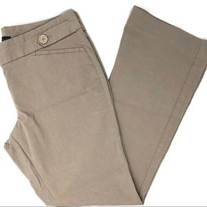 The Limited Plus Size Exact Stretch Tan Pants